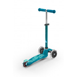 Patinete Micro Mini Deluxe Aqua LED - MMD076